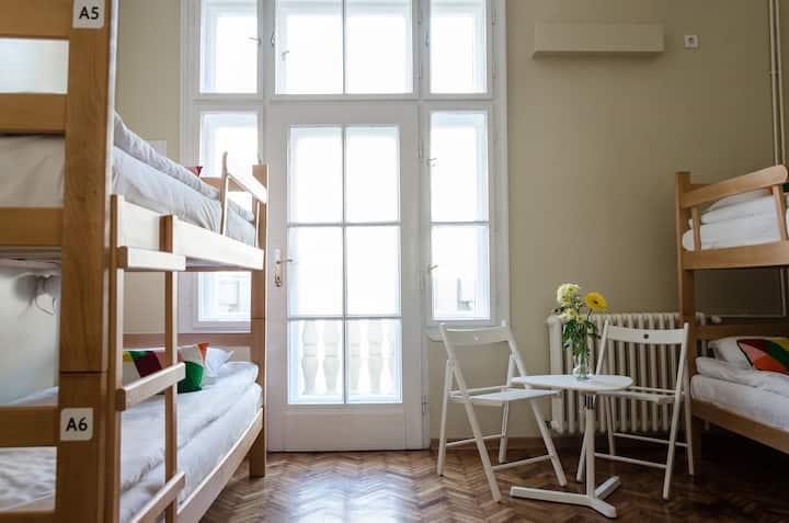 Fabulous six-bed room with amazing balcony