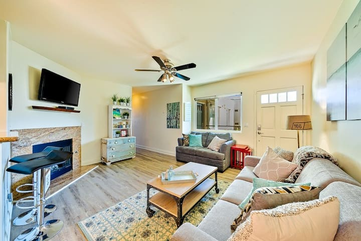 25% OFF FEB 5-14! Amazing Condo w/ Patio,Steps to Beach,Pier+Shops