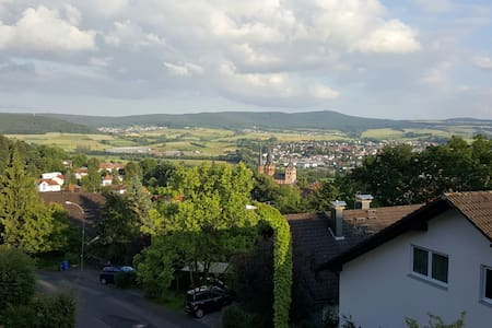 Südhang Fernblick über Gelnhausen - Apartamento