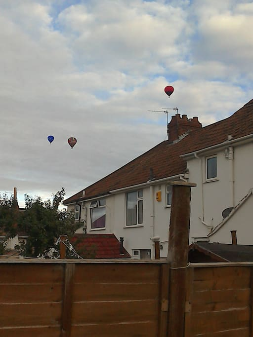 Bristol is famous for balloons