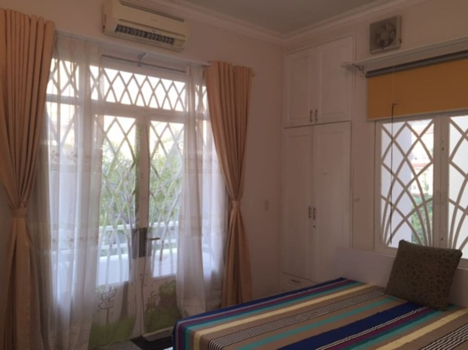 rooms with balconies overlooking the park cool
