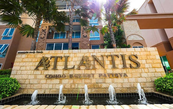 Atlantis-Boutique Apartments Pattaya 42qm 8. Floor