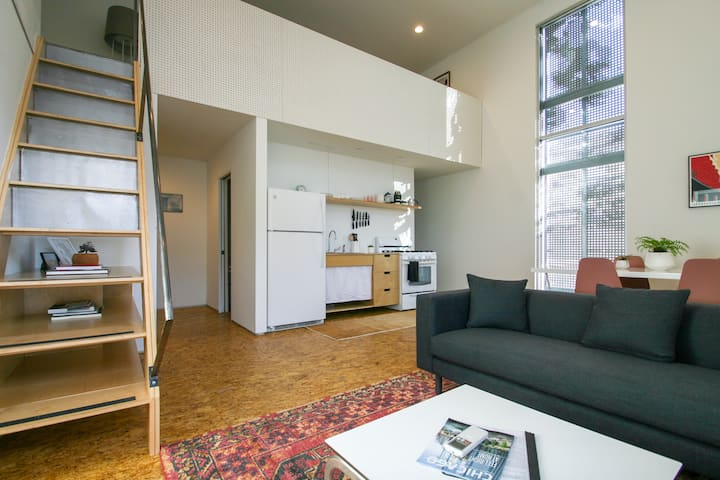 Modern, Open, Loft in Chicago's Logan Square
