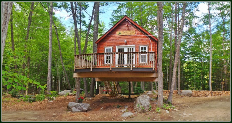 Treehouse Rentals & Disc Golf - The Spruce Suite - Stoneham - Apartment