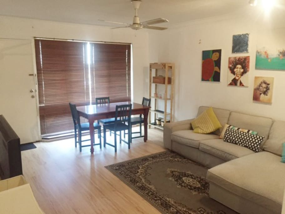 Funky Living/Dining Area