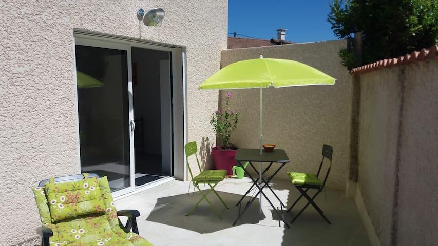 appartement neuf de 36 m2 avec terrasse privée
