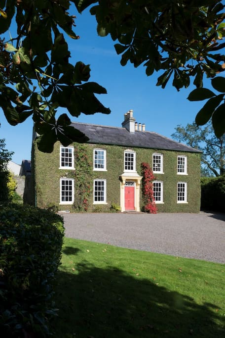 Tullymurry House from garden