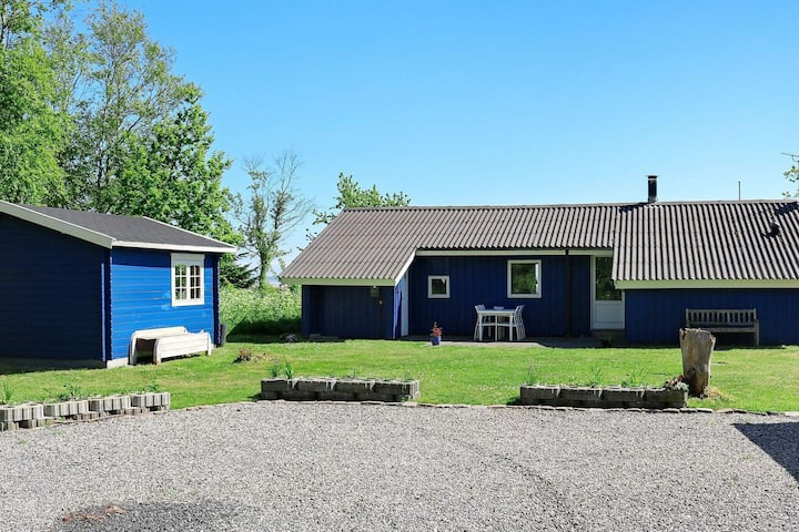 Charming holiday home in Hadsund with Whirlpool