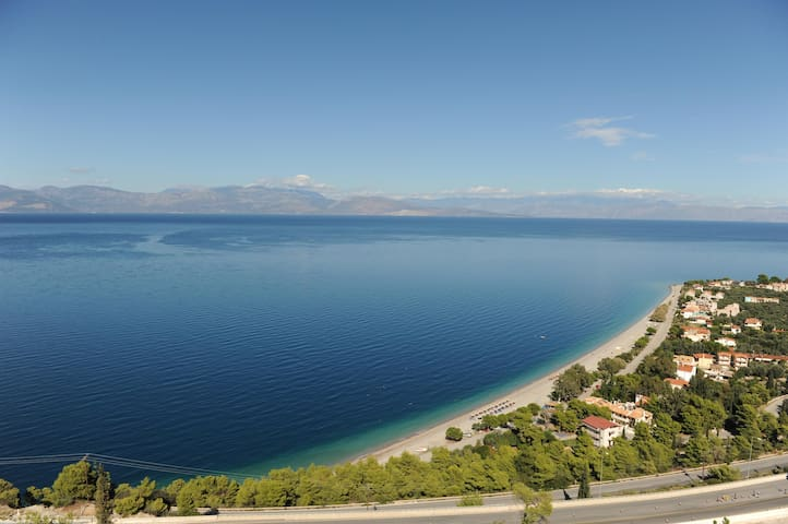 Superior panorama villa - Paralia Trapezis - Hus