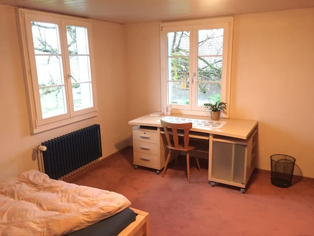 Big Room on a Farm near Lucerne-City - Emmen - House