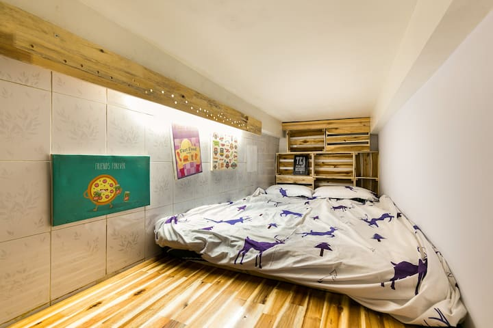 your bed on loft