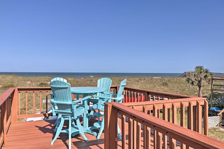 NEW-Amelia Island Cottage, Steps to Ocean & Dining