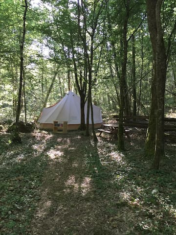 Woodland Boho Belle Tent