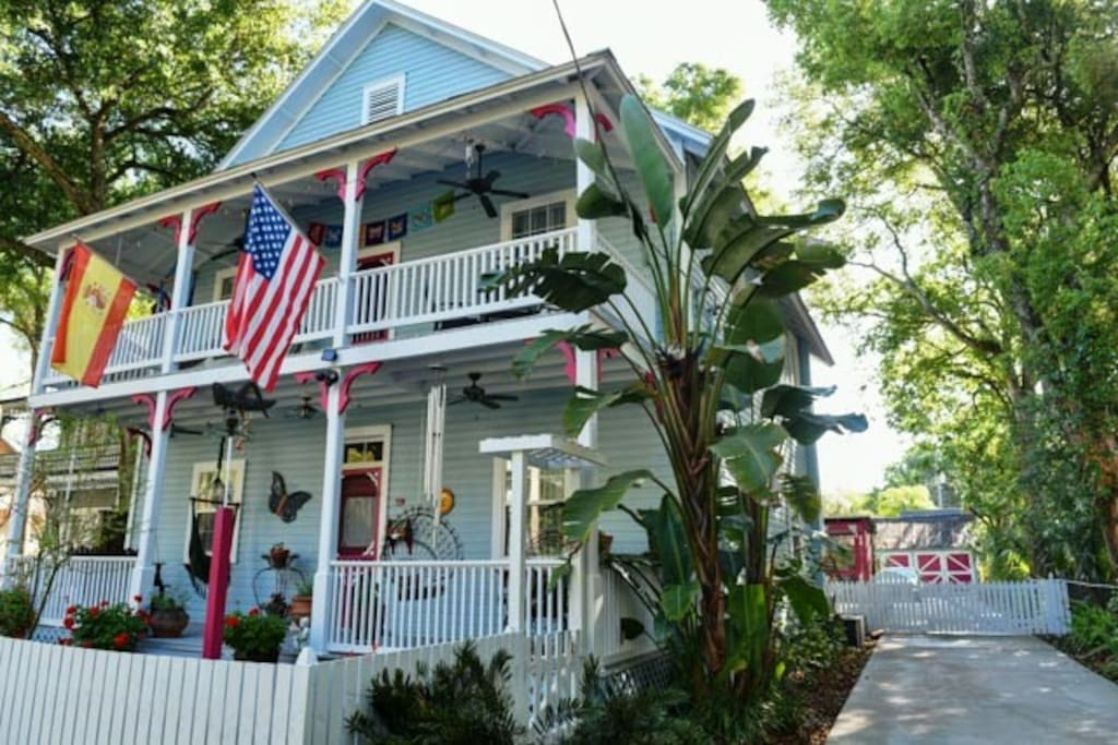 Casa Manuela Peaceful Downtown Retreat Guest Suites For Rent In St Augustine Florida