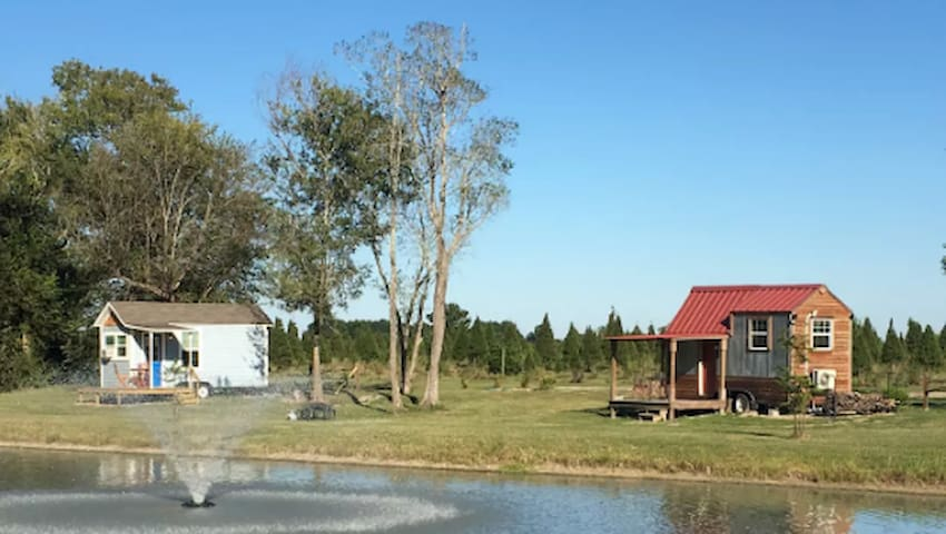 Tiny House on the Christmas Tree Farm - Manvel