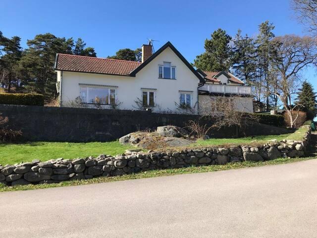 Villa vid havet på Särö.