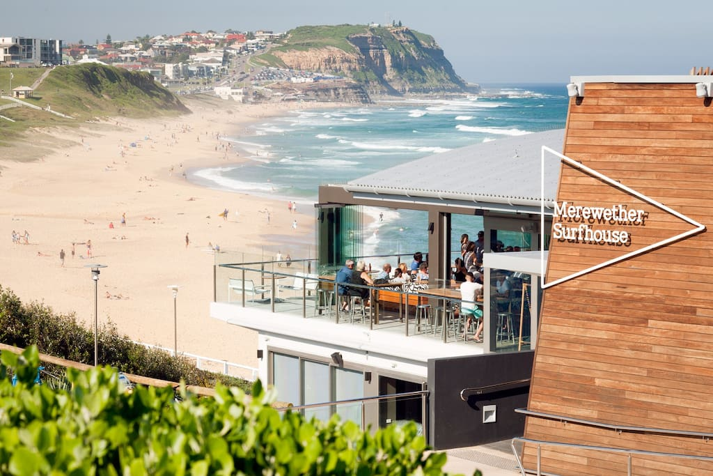 Merewether Surfhouse and Merewether Beach