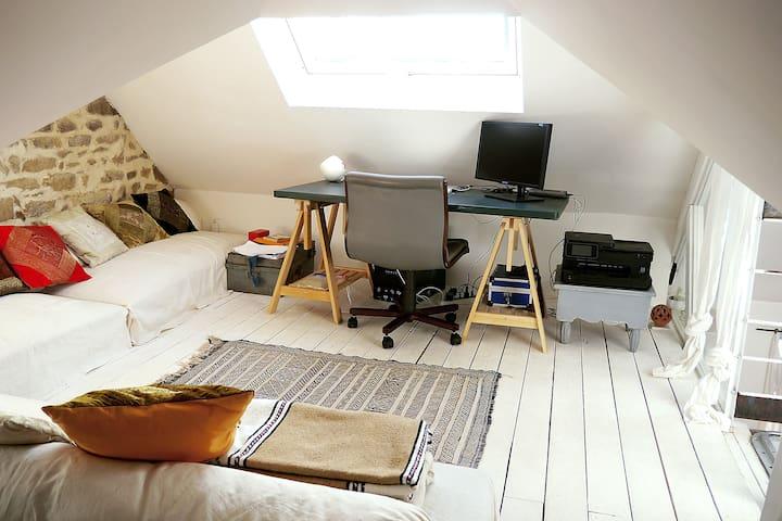 La Sakina: Atypical loft apartment