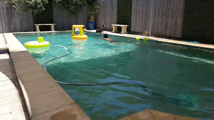 Granny flat with pool access