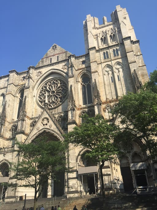 The Cathedral Church of St. John the Divine within 2-min walk