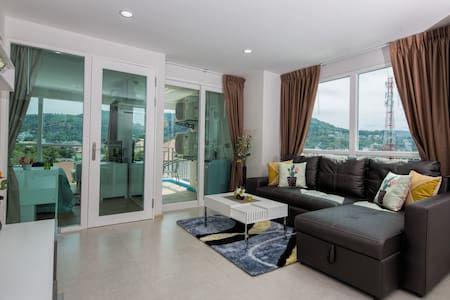 Amazing 7th Floor Apartment @Kata, beach - 900 m