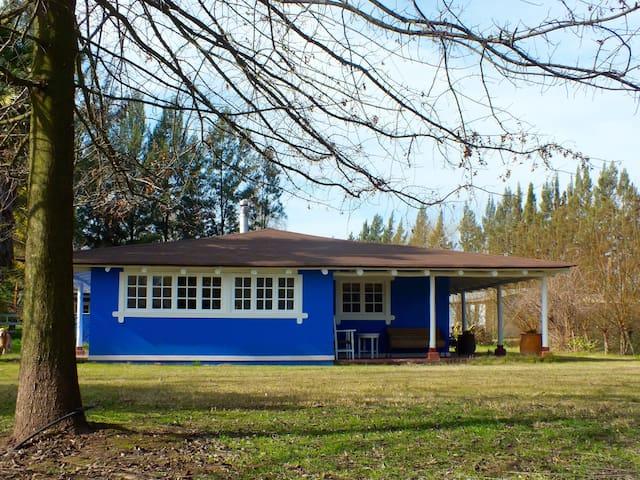 Casa Azul en Santa Cruz, Casa en el Campo