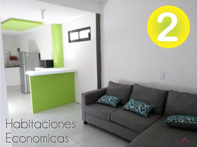 Habitaciones económicas muy bien ubicadas (2)