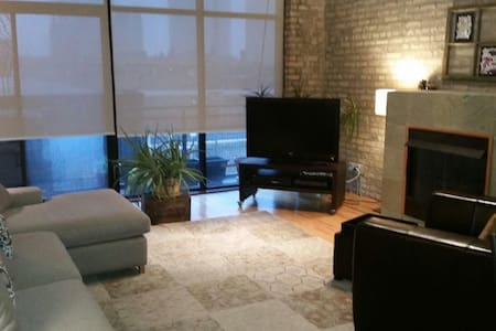 Shwanky loft condo close to lake! - Chicago - Loft