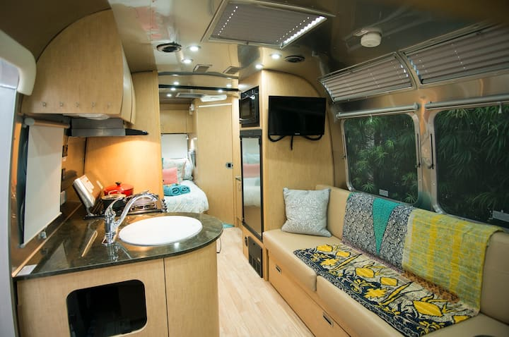 North Pacific Beach Airstream Surf Cottage