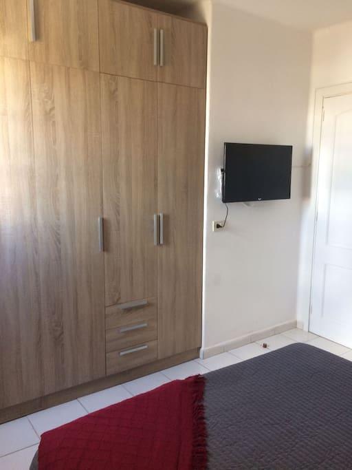 amplio armario