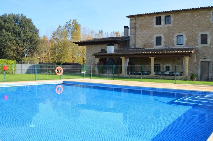 MAS DEL LILJA - Family holiday with big pool!
