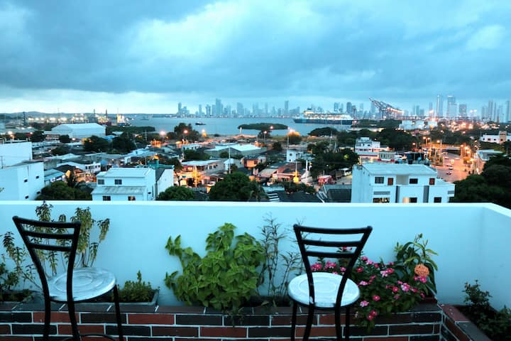 La Terraza De Estella, dormitorios Cartagena