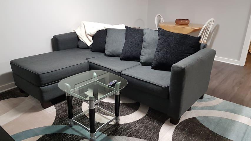 Comfy Cozy Family room