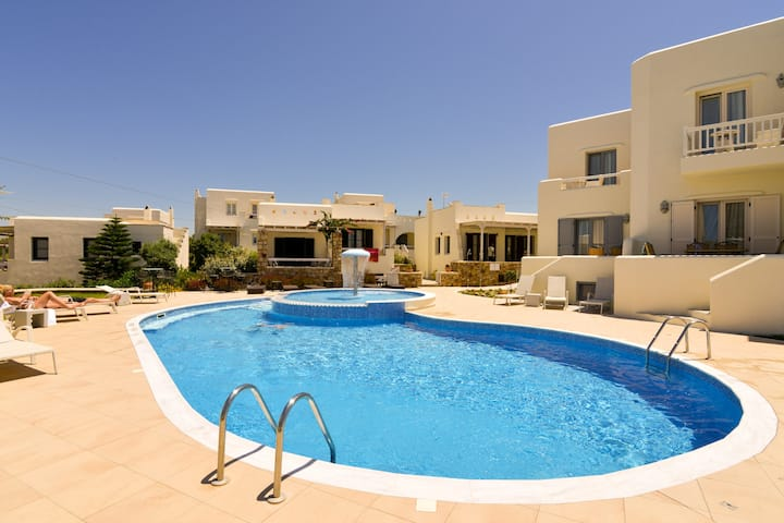 Naxos Relaxing Villa with jacuzzi  for 8