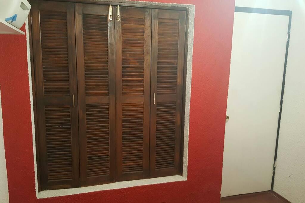 Foto de la entrada al cuarto