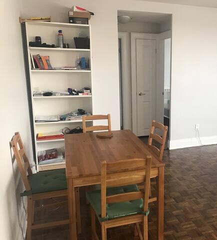Appartement entier propre et  très bien situé