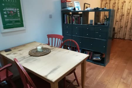 Ground floor flat (sleeps 4 with sofa bed)