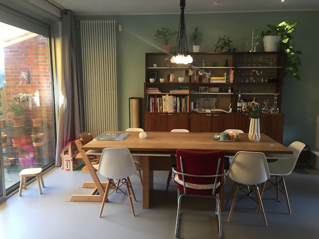 Spacious, modern, sunny, childfriendly family home - Amsterdam - Huis