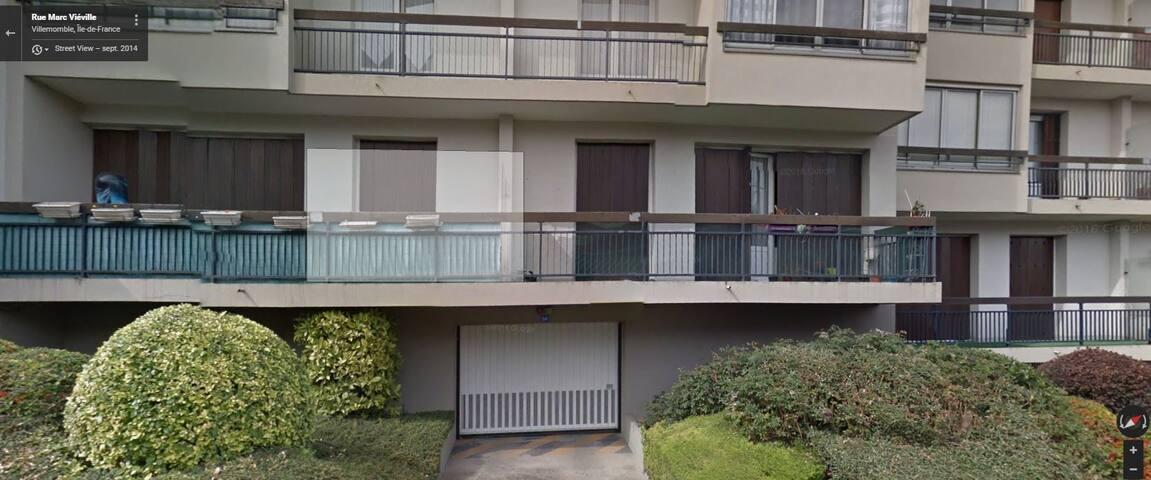Appartement 90 m2 - RDJ - Calme - Villemomble - Apartment