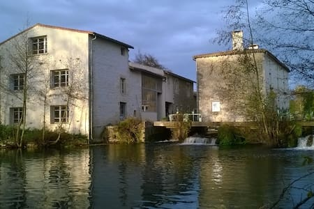Moulin Neuf,  Water mill, Bed and Breakfast - Nanteuil - 住宿加早餐