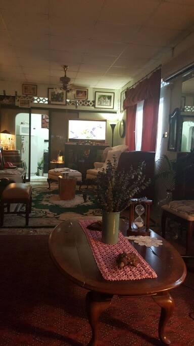 View of Living area from front door