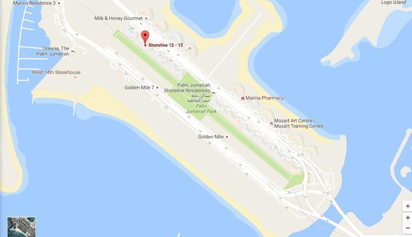 5* Elite 1Bed Residence ThePalm w/ POOL & GYM AA3 - Dubai - Apartotel