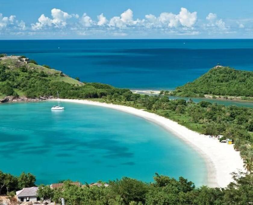 Deep Bay Lagoon and Beach, closest to Pinkshack/Pink Oasis