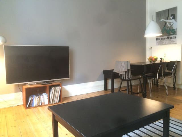 Cozy Vesterbro apartment in the center of Cph