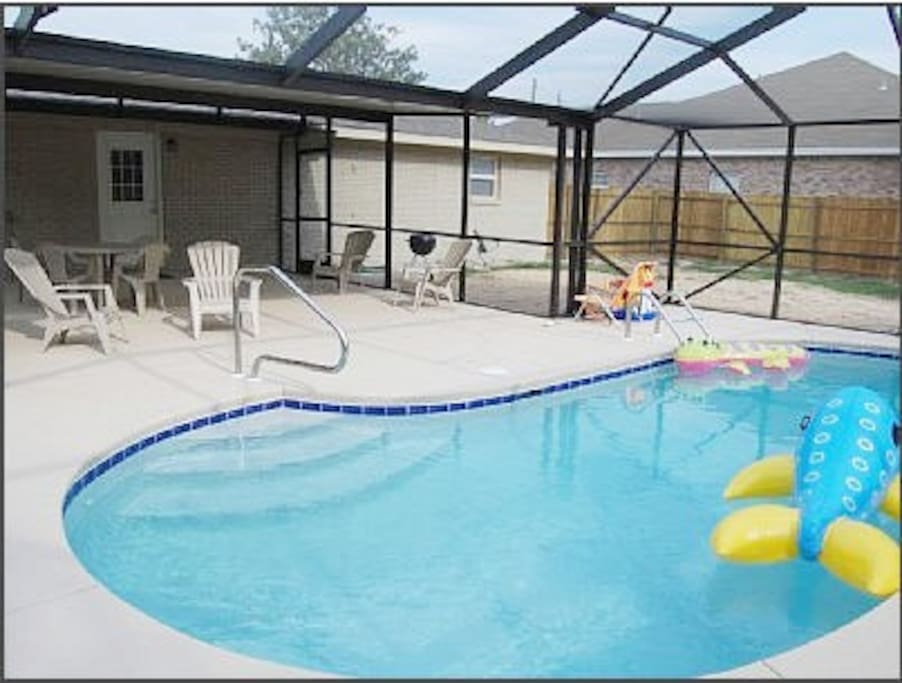 Kelly House With Private Pool Near Beach Houses For Rent In Panama City Beach Florida United States