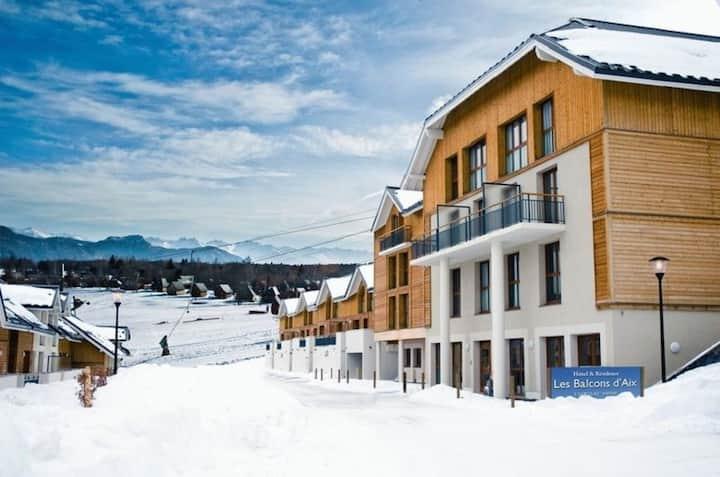 Appart Abordable + Balcon Privatif | Casiers à Ski