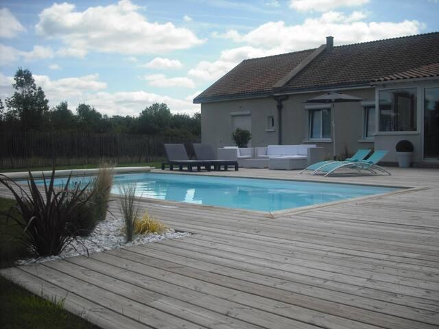 Chambre avec piscine 30' Puy du Fou - Le May-sur-Èvre