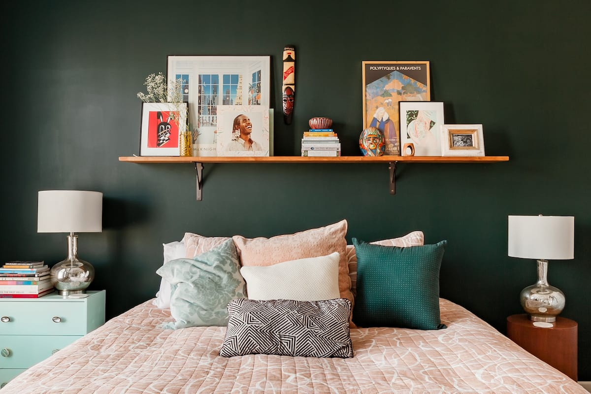 Chill on the Quilted Day Bed at a Colorful, Artsy Brownstone