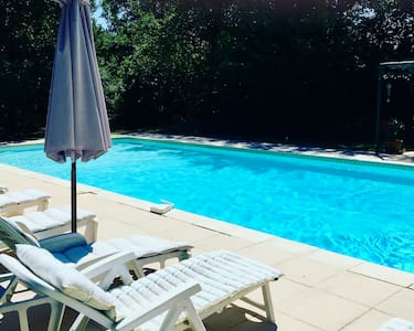 La Bergerie. Independent cottage with pool access