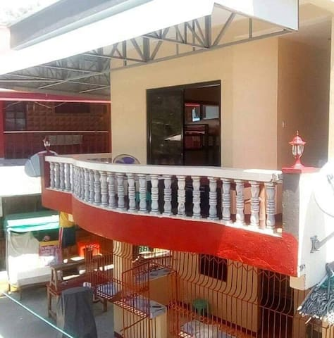Laiya Beach 12-16 pax 1 bedroom 2nd flr